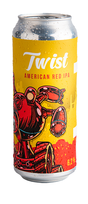 Clock Twist Red IPA 14