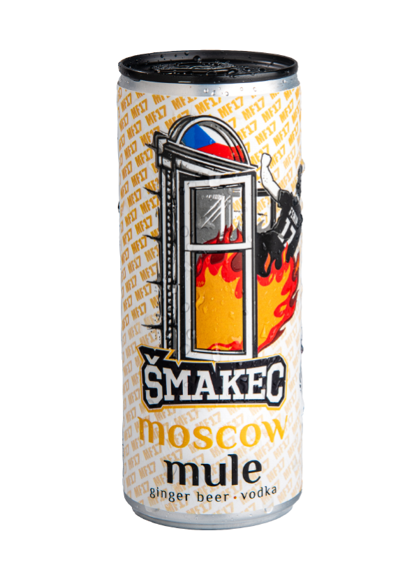 Šmakec Moscow Mule 10,1% alk. 250ml