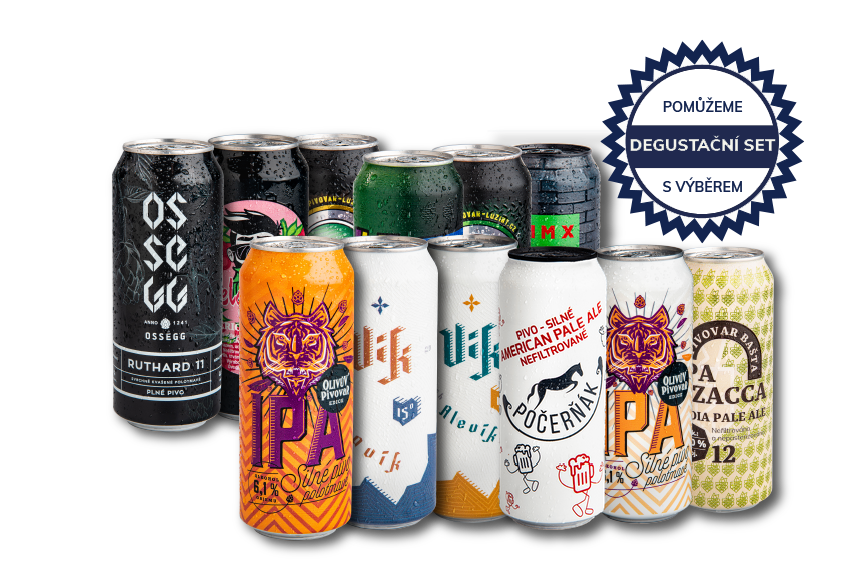 Selection of brewmasters 12 pcs