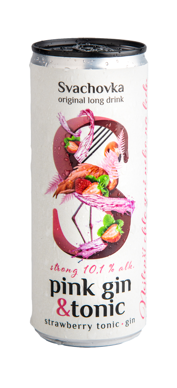 Pink Gin & Tonic Strong 10,1% alk. 250ml