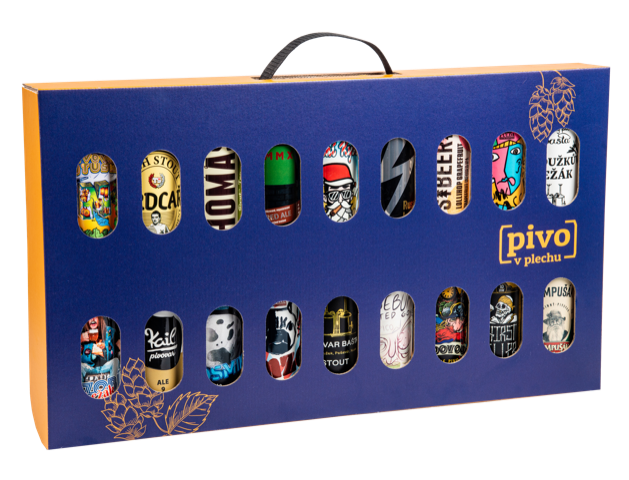 Luxury gift suitcase full of beer 18pcs 500ml