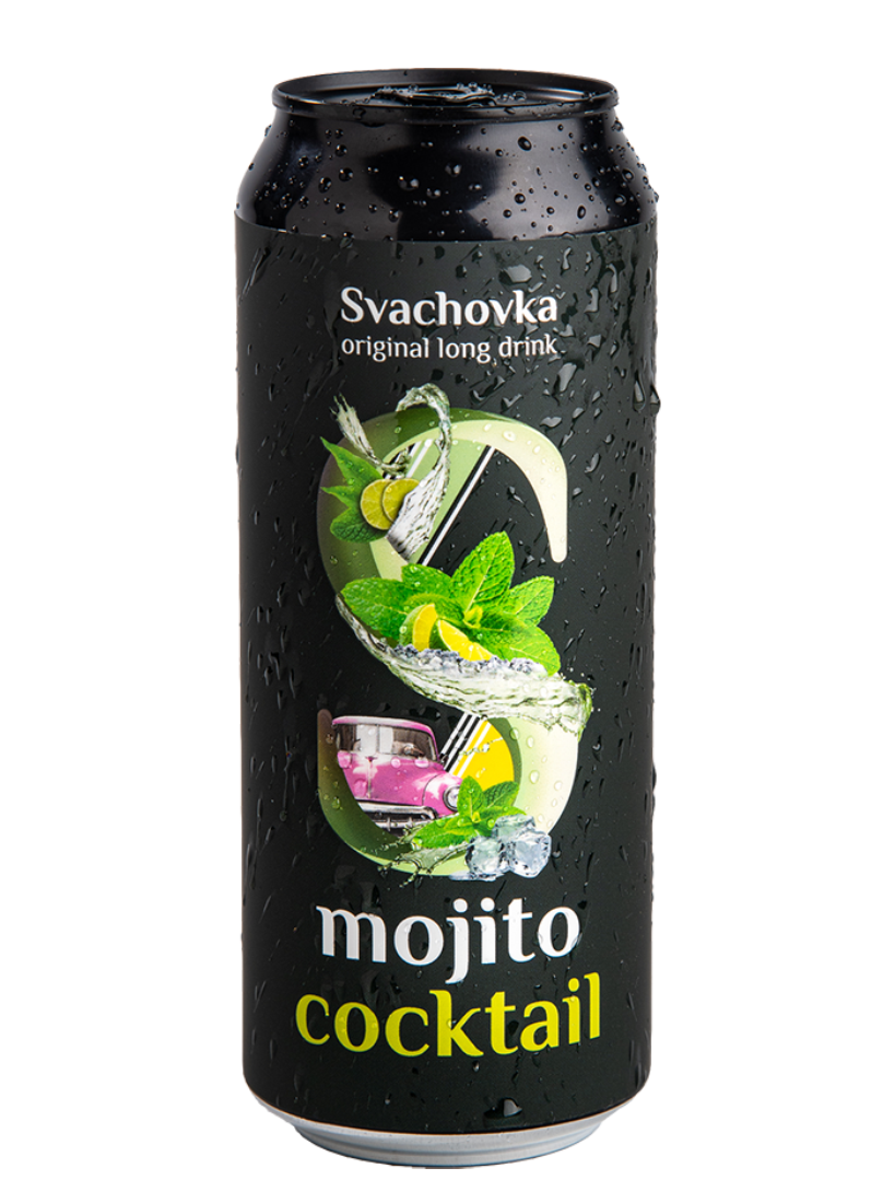 Mojito cocktail Svachovka 7,2% alk. 500ml