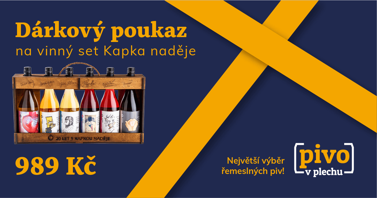 Voucher for the Perlíto gift set Kapka naděje foundation 989 CZK