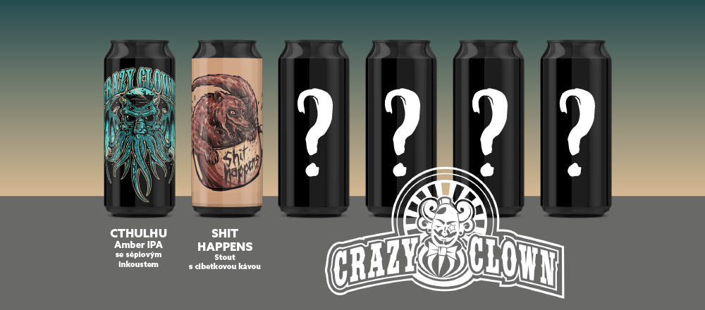 Crazy Clown Cthulhu's Mystery Pack