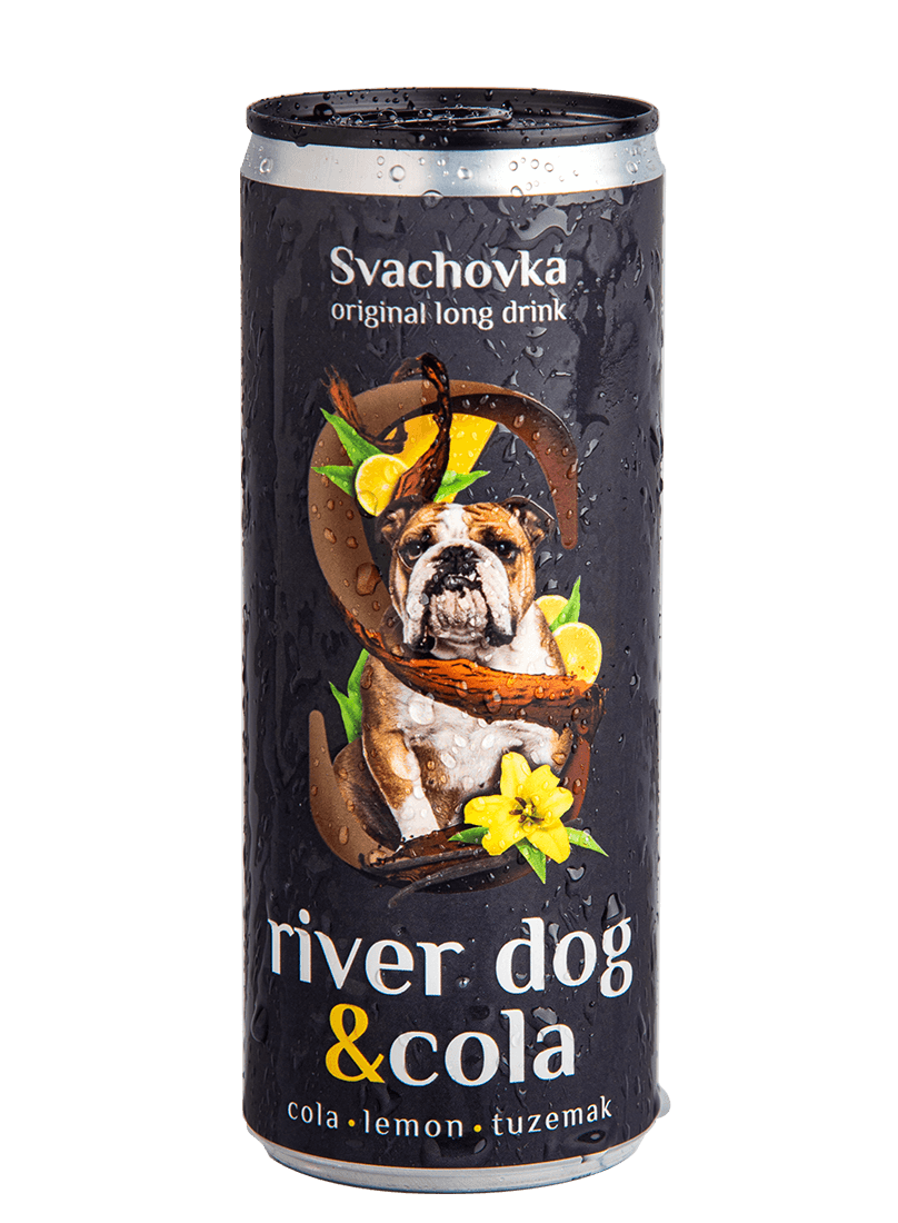 River Dog & Cola 7,2% alk. 250ml