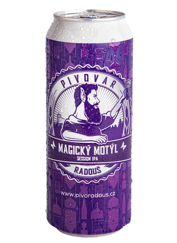 Radouš Session IPA 12 Magic butterfly